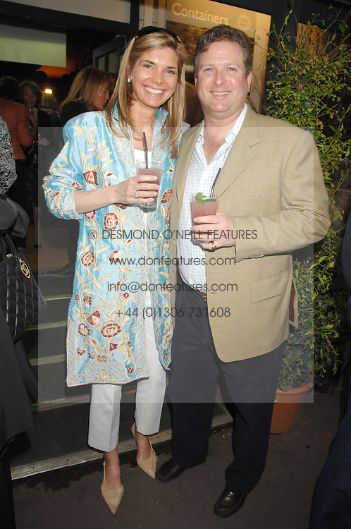 WILLIAM & LUCY ASPREY at a party for the Royal Marsden Hospital held at the Chelsea Gardener, Sydney Street, London on 6th May 2008.<br /><br />NON EXCLUSIVE - WORLD RIGHTS