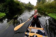 Canoeing Gudenå