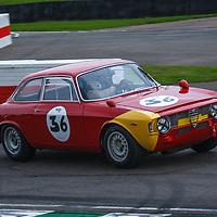 St Mary's Trophy, Saturday 15h05<br /> #36 – 1965 Alfa Romeo Giulia Sprint GTA – driver Jochen Mass at the wheel at Goodwood SpeedWeek 16 - 18 October 2020