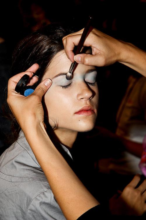 Toni Francesc Fashion show at Bryant Park for 2009 Mercedes Benz Fashion week in New York