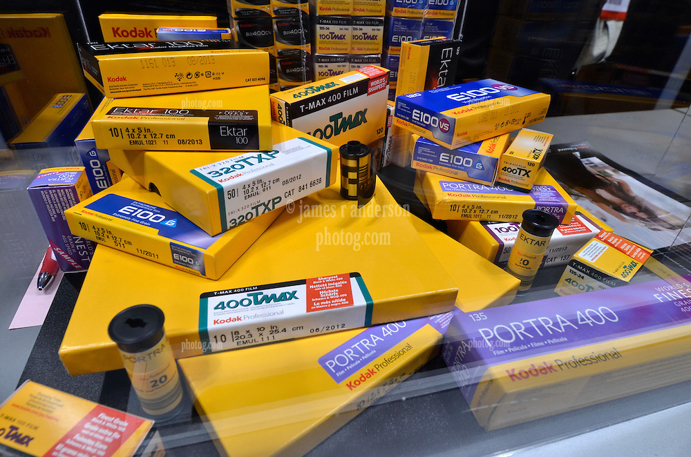 Kodak! Films the name of their Professional Photography Game it seems. As seen at The NYC PhotoExpo 2011