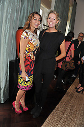 Left to right, SOFIA BARATTIERI and the HON.SOPHIA HESKETH at an exclusive preview of fashion label Fay latest collections held at 21 Collingham Road, London SW5 on 12th June 2012. *** Local Caption *** Image free to use for 1 year from image capture date as long as image is used in context with story the image was taken.  If in doubt contact us - info@donfeatures.com<br /> Left to right, SOFIA BARATTIERI and the HON.SOPHIA HESKETH at an exclusive preview of fashion label Fay latest collections held at 21 Collingham Road, London SW5 on 12th June 2012.