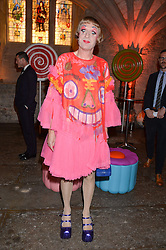 GRAYSON PERRY at Save the Children's spectacular, black tie Winter Gala, a festive fundraising event held at London's Guildhall. Guests were transported into the magical world of the much-celebrated British novelist, Roald Dahl, in celebration of his centenary, for a marvellous evening of fine dining and gloriumtious entertainment to raise money to help transform children's lives across the world and here in the UK.