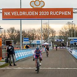 11-01-2020: Wielrennen: NK Veldrijden: Rucphen <br />Frank Renia