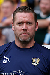 Notts County manager Kevin Nolan - Mandatory by-line: Ryan Crockett/JMP - 21/07/2018 - FOOTBALL - Meadow Lane - Nottingham, England - Notts County v Leicester City - Pre-season friendly