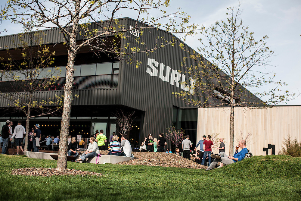 Surly Brewing Co. in Minneapolis, MN, May 15, 2015.