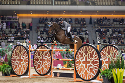 WEISHAUPT Philipp (GER), Coby 8<br /> Doha - CHI Al SHAQAB 2020<br /> Commercial Bank CHI Al Shaqab Grand Prix presented by LONGINES<br /> Int. jumping competition over two rounds and jump-off (1.60 m)<br /> 29. Februar 2020<br /> © www.sportfotos-lafrentz.de/Stefan Lafrentz