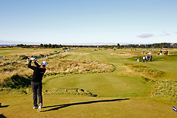 04.10.2012, Old Course, St. Andrews, SCO, European Golf Tour, Alfred Dunhill Links Championship, im Bild A general view of play on the 6th hole // during the European Golf Tour, Alfred Dunhill Links Championship at the Old Course, St. Andrews, Scotland on 2012/10/04. EXPA Pictures © 2012, PhotoCredit: EXPA/ Mitchell Gunn