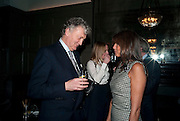WILLIAM SHAWCROSS; ;COUNTESS  DEBBIE VON BISMARCK, Graydon and Anna Carter host a lunch for Carolina Herrera to celebrate the ipening of her new shop on Mount St. .The Connaught. London. 20 January 2010