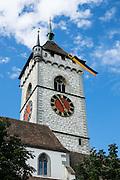 St. Johann Church in Schaffhausen, Switzerland, Europe.