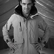 Chantier de Préparation du vendée-globe 2016 de Super Bigou skippé par Alan Roura, Suisse et Plus jeune inscrit au vendée Globe