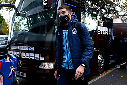 Jack Baldwin of Bristol Rovers arrives at Rochdale - Mandatory by-line: Robbie Stephenson/JMP - 31/10/2020 - FOOTBALL - Crown Oil Arena - Rochdale, England - Rochdale v Bristol Rovers - Sky Bet League One