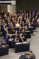 30 NOV 2005, BERLIN/GERMANY:<br /> Uebersicht der Bundestagsfraktion FDP im Plenarsaal, Deutscher Bundestag<br /> IMAGE: 20051130-01-020<br /> KEYWORDS: Übersicht