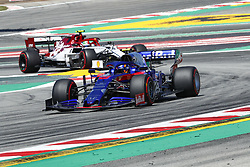 May 10, 2019 - Barcelona, Catalonia, Spain - Daniil Kvyat, team Toro Rosso and Giovinazzi, team Alfa Romeo during F1 Grand Prix free practice celebrated at Circuit of Barcelona 10th May 2019 in Barcelona, Spain. (Credit Image: © Mikel Trigueros/NurPhoto via ZUMA Press)