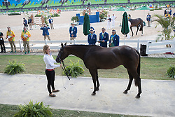 Phoenix Jessica, CAN, A Little Romance<br /> Final Horse inspection Eventing<br /> Olympic Games Rio 2016<br /> © Hippo Foto - Dirk Caremans<br /> 09/08/16