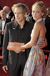 Jul 12, 2006; Hollywood, CA, USA; Actor BEN STILLER and wife, actress CHRISTINE TAYLOR at the 2006 ESPY Awards at the Kodak Theatre. Mandatory Credit: Photo by Vaughn Youtz/ZUMA Press. (©) Copyright 2006 by Vaughn Youtz