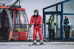 THEMENBILD - am Skigebiet Kitzsteinhorn , aufgenommen am 21. Oktober 2020 in Kaprun, Österreich // , Kaprun, Austria on 2020/10/21. EXPA Pictures © 2020, PhotoCredit: EXPA/ JFK