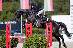 De Rijcker Isabel, BEL, Cuckoo vd Kattevennen<br /> BK Young Horses 2020<br /> © Hippo Foto - Sharon Vandeput<br /> 6/09/20