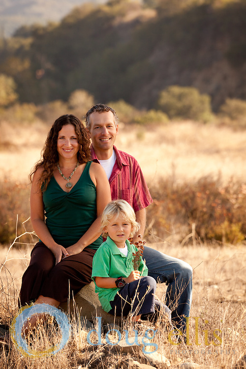 Family Portraits in Ojai for Amy, Vaaiko and Noah Therrien
