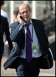BBC politics editor Nick Robinson at the Labour PArty Conference in  Brighton, United Kingdom. Tuesday, 24th September 2013. Picture by Andrew Parsons / i-Images