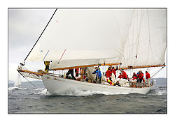 Day one of the Fife Regatta, Round Cumbraes Race.<br /> Astor, Richard Straman, USA, Schooner, Wm Fife 3rd, 1923<br /> <br /> <br /> * The William Fife designed Yachts return to the birthplace of these historic yachts, the Scotland's pre-eminent yacht designer and builder for the 4th Fife Regatta on the Clyde 28th June–5th July 2013<br /> <br /> More information is available on the website: www.fiferegatta.com