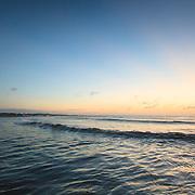 Today's Fall Sunrise  at Narragansett Town Beach, Narragansett, RI,  October  18, 2013. #fall #newengland #rhodeisland #beach #sunrise #waves