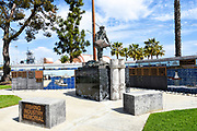 Fishing Industry Memorial at John S. Gibson Park in San Pedro