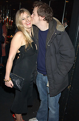 TOM PARKER BOWLES and his wife SARA at a party to celebrate the first issue of British Harper's Bazaar held at Cirque, 10-14 Cranbourne Street, London WC2 on 16th February 2006.<br /><br />NON EXCLUSIVE - WORLD RIGHTS