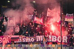 Viole ultras during football match between NK Maribor and NS Mura in 9th Round of Prva liga Telemach 2021/22, on 19 of September, 2021 in Ljudski Vrt, Murska Sobota, Slovenia. Photo by Blaž Weindorfer / Sportida