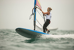 31.07.2012, Bucht von Weymouth, GBR, Olympia 2012, Windsurfen, im Bild RS:X Women, Maslivets Olga (UKR) . EXPA Pictures © 2012, PhotoCredit: EXPA/ Juerg Kaufmann ***** ATTENTION for AUT, CRO, GER, FIN, NOR, NED, POL, SLO and SWE ONLY!