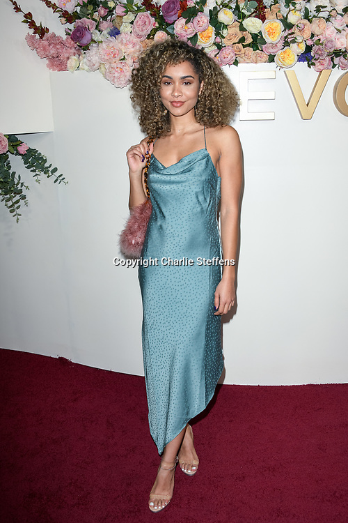 PAULINE LUDDIE BROWN attends the 3rd Annual #REVOLVEawards at Goya Studios in Los Angeles, California