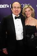 January 12, 2013- Washington, D.C- (L-R)Phillipe Dauman, President & CEO, Viacom and wife Deborah attend the 2013 BET Honors Red Carpet held at the Warner Theater on January 12, 2013 in Washington, DC. BET Honors is a night celebrating distinguished African Americans performing at exceptional levels in the areas of music, literature, entertainment, media service and education. (Terrence Jennings)