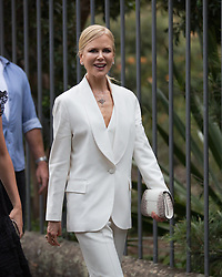AU_1471216 - Sydney, AUSTRALIA  -   *EXCLUSIVE*  - Nicole Kidman was spotted arriving outside her premiere in Sydney wearing an all white number and stopped to talk to PR people as she entered the cinema.<br /> <br /> Nicole's face was looking tight as she showed her profile. As well as having quite alot of make up the actress looks a lot different from her heyday in the early 90's<br /> <br /> Pictured: Nicole Kidman<br /> <br /> BACKGRID Australia 29 JANUARY 2019 <br /> <br /> Phone: + 61 2 8719 0598<br /> Email:  photos@backgrid.com.au