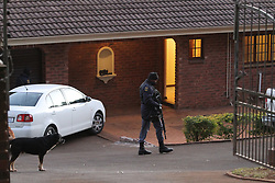 South Africa - Durban - 16 July 2020 - Asset forfeiture Unit raiding houses in Hillcrest and Waterfall belonging to  some Municipal officials pertaining fraud and corruption to the tune of about R1 billion in the Water and Sanitation Department.<br /> Picture: Doctor Ngcobo/African News Agency(ANA)