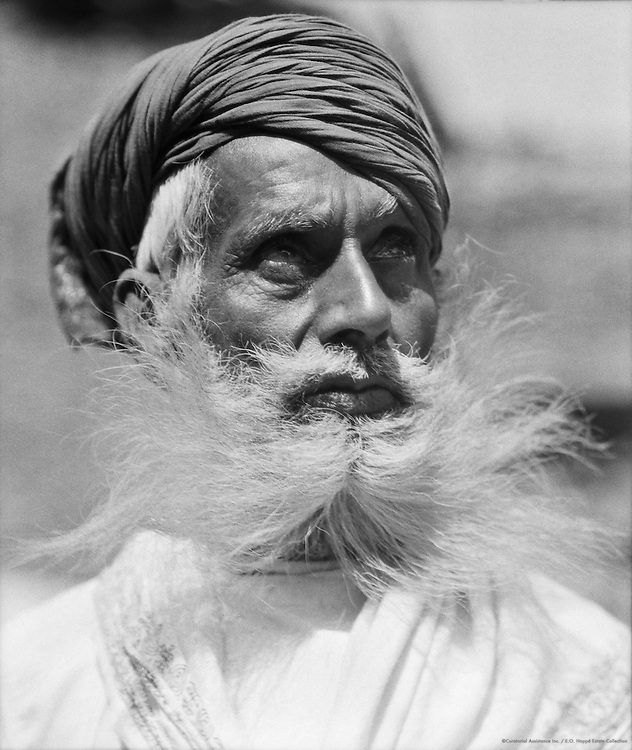 Old Man of Udaipur, India, 1929
