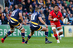 Bristol Rugby Flanker Marco Mama - Photo mandatory by-line: Rogan Thomson/JMP - 07966 386802 - 27/05/2015 - SPORT - Rugby Union - Worcester, England - Sixways Stadium - Worcester Warriors v Bristol Rugby - Greene King IPA Championship Play-Off Final 2nd Leg.