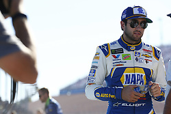 September 14, 2018 - Las Vegas, Nevada, United States of America - Chase Elliott (9) hangs out on pit road before qualifying for the South Point 400 at Las Vegas Motor Speedway in Las Vegas, Nevada. (Credit Image: © Chris Owens Asp Inc/ASP via ZUMA Wire)