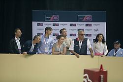 Staut Kevin, (FRA), Qurack de Falaise HDC<br /> Longines FEI World Cup™ Jumping Final III round 1<br /> Las Vegas 2015<br />  © Hippo Foto - Dirk Caremans<br /> 19/04/15