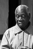 Portrait of the Donija Nkhoma village chief, Malawi, Africa