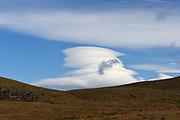 Lenticular clouds. Torres del Paine National Park,  Republic of Chile 19Feb13