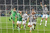 Esultanza Gianluigi Buffon Juventus Celebration at the end of the match <br /> Milano 28-04-2018 Stadio Giuseppe Meazza in San Siro Football Calcio Serie A 2017/2018 Inter - Juventus Foto Andrea Staccioli / Insidefoto