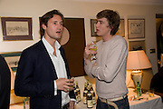 TRISTRAN HOARE; HUGO WILSON. Aatish Taseer  book launch party for his new book Stranger To History. Travel book asks what it means to be a Muslim in the 21st century. Hosted by Gillon Aitken. Kensington, London. 30 March 2009