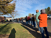 Voters in Pennsylvania's Mifflin County experienced two hour or more waits at the Union Precinct Polling Station.