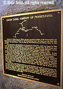 PA Historic Places, Union Canal, Sign, Lebanon Co., Pennsylvania