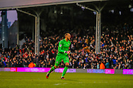David Button of Fulha during the Sky Bet Championship match at Craven Cottage, London<br /> Picture by Richard Brooks/Focus Images Ltd 07947656233<br /> 02/01/2017