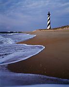 Cape Hatteras Lighthouse, built in 1870, Cape Hatteras National Seashore, North Carolina.
