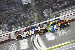 September 22, 2018 - Richmond, Virginia, United States of America - Paul Menard (21) battles for position during the Federated Auto Parts 400 at Richmond Raceway in Richmond, Virginia. (Credit Image: © Chris Owens Asp Inc/ASP via ZUMA Wire)