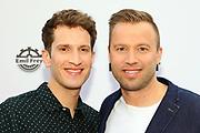 Jonny Fischer mit Partner Michi anlässlich der Gala von DAS ZELT 2019