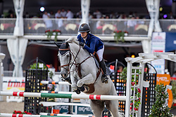 SHORT Emily (USA), COCO II<br /> Münster - Turnier der Sieger 2019<br /> MARKTKAUF - CUP<br /> BEMER-Riders Tour - Qualifier for the rating competition (comp no 11)  - Stechen<br /> CSI4* - Int. Jumping competition with jump-off (1.50 m) - Large Tour<br /> 03. August 2019<br /> © www.sportfotos-lafrentz.de/Stefan Lafrentz