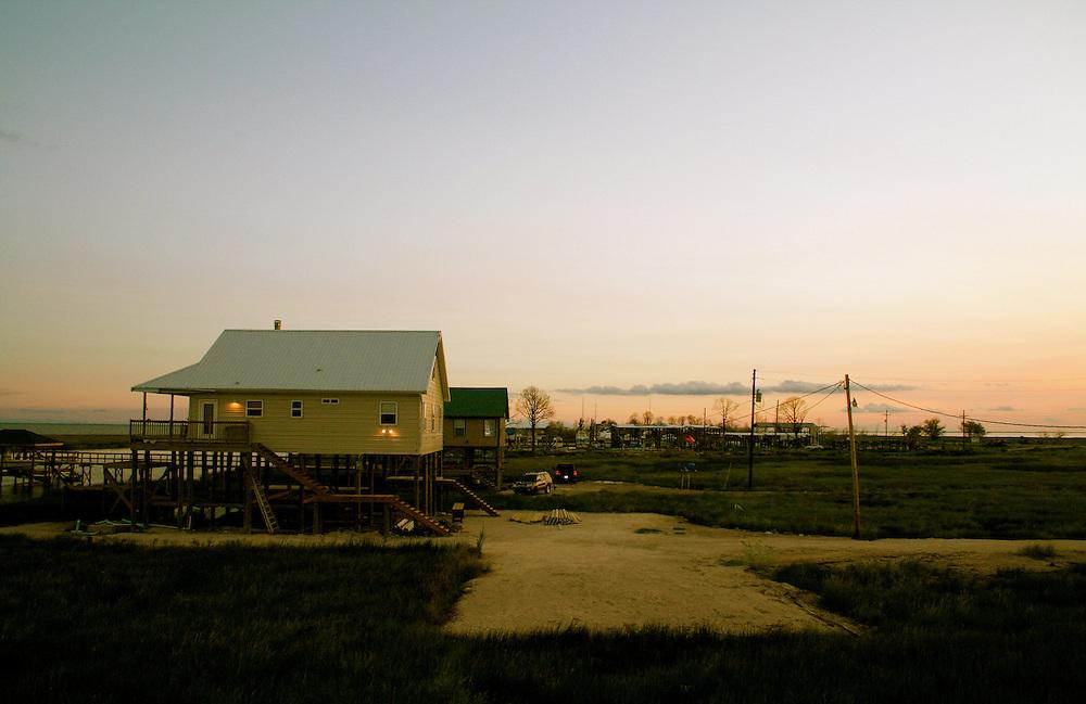 Camps That Survived Hurricane Katrina, Lake Catherine Community